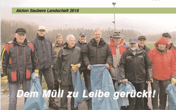 "Aktion ""Saubere Landschaft"" 2019"